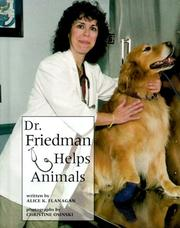 Cover of: Dr. Friedman helps animals