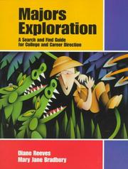 Cover of: Majors Exploration: A Search and Find Guide for College and Career Direction