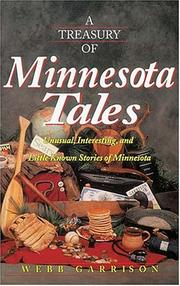 Cover of: A treasury of Minnesota tales