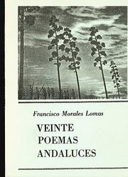 Cover of: Veinte poemas andaluces