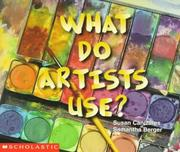 Cover of: What do artists use?