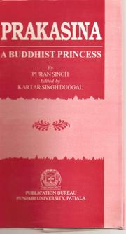 Cover of: Prakasina, a Buddhist princess