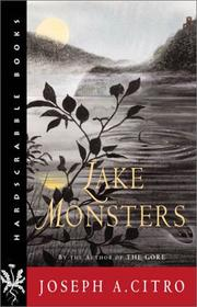 Cover of: Lake monsters: a novel