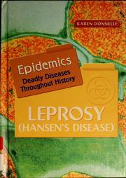 Cover of: Leprosy