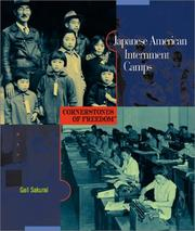 Cover of: Japanese American internment camps