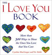 "Cover of: The ""I love you"" book"