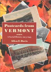 Cover of: Postcards from Vermont