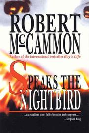 Cover of: Speaks the nightbird