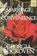 Cover of: A Marriage of Convenience