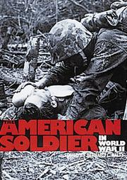 Cover of: The American soldier in World War II
