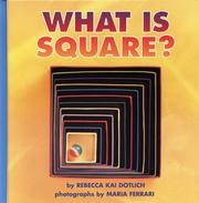 Cover of: What is square?