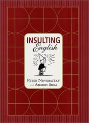 Cover of: Insulting English