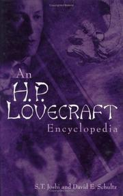 Cover of: An H.P. Lovecraft encyclopedia