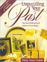 Cover of: Unpuzzling your past