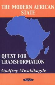 Cover of: The modern African state