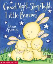 Cover of: Good night, sleep tight, little bunnies