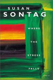 Cover of: Where the Stress Falls: essays