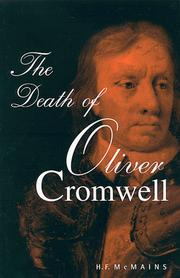 Cover of: The death of Oliver Cromwell