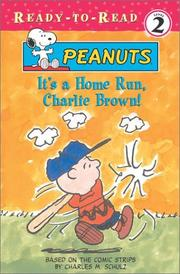 Cover of: It's a home run, Charlie Brown!
