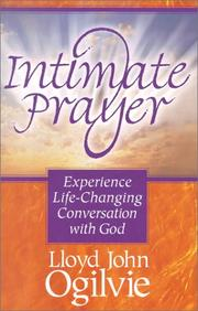 Cover of: Intimate prayer