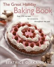 Cover of: The great holiday baking book