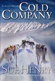 Cover of: Cold company: an Alaska mystery