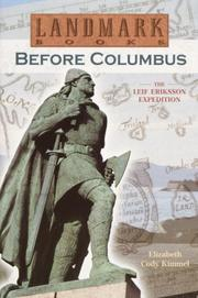 Cover of: Before Columbus
