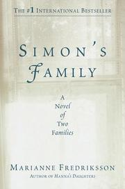 Cover of: Simon's family