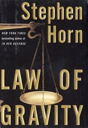 Cover of: Law of gravity