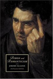Cover of: Byron and romanticism