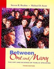 Cover of: Between one and many