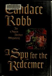Cover of: A spy for the redeemer