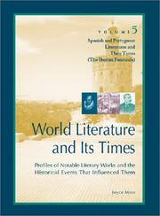 Cover of: Spanish and Portuguese literatures and their times