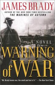 Cover of: Warning of War: A Novel