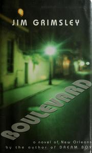 Cover of: Boulevard: a novel