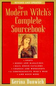 Cover of: The modern witch's complete sourcebook