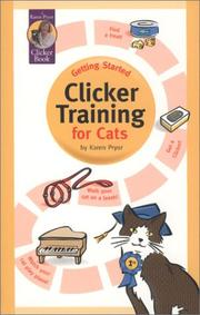 Cover of: Clicker training for cats