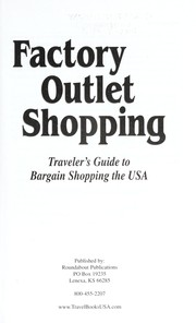 Cover of: Factory outlet shopping