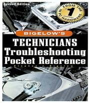 Cover of: PC technician's troubleshooting pocket reference