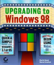 Cover of: Upgrading to Windows 98
