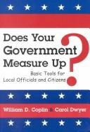 Cover of: Does your government measure up?