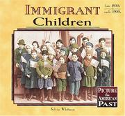 Cover of: Immigrant children