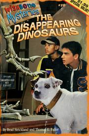 Cover of: The disappearing dinosaurs