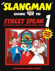 Cover of: Street speak 1