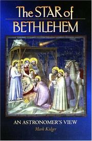 Cover of: The Star of Bethlehem
