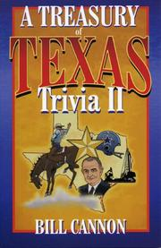 Cover of: A treasury of Texas trivia II