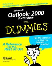 Cover of: Microsoft Outlook 2000 for Windows for dummies