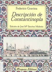 Cover of: Descripción de Constantinopla