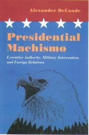Cover of: Presidential machismo
