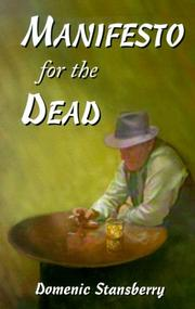 Cover of: Manifesto for the dead